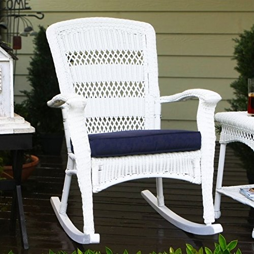 Plantation White Outdoor Chair - 5