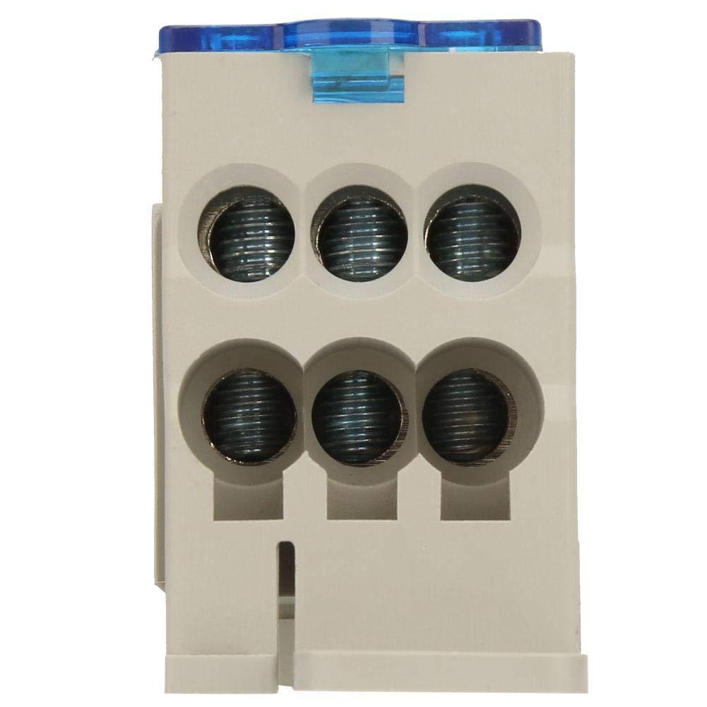 Caja de conexiones universal del poder del conector del alambre el/éctrico de la caja de distribuci/ón del bloque de terminales del carril del dinar de Nitrip