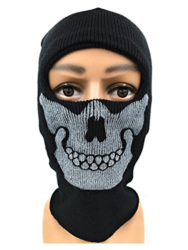 Nedal Skull Face Mask Military Headwear Last Mission Balaclava for Cosplay Halloween Game