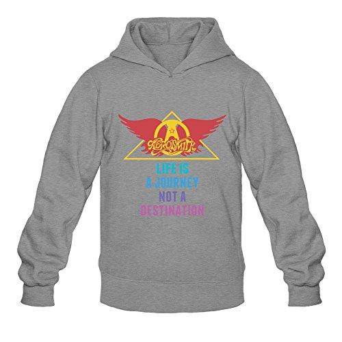AiK Aerosmith Rock Band Quotes Logo Men's Hoodies Pullover Sweater Cardigan Logo Sweater