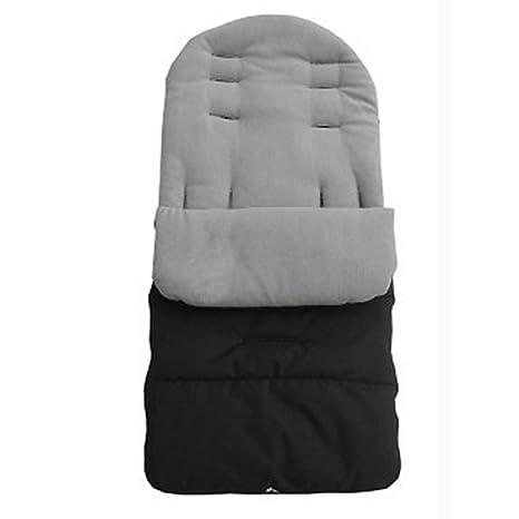 Saco de abrigo para cochecito de bebé, funda para pie, ajuste universal, acolchado