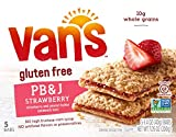 Cheap Van's, PB&J Strawberry and Peanut Butter Sandwich Bars, 5 Count