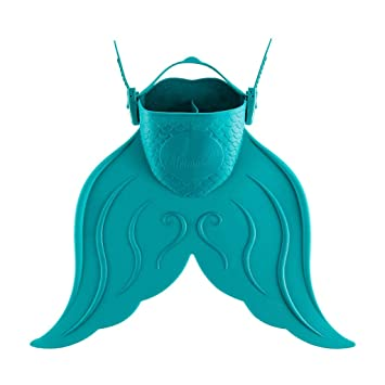 41ac653c28e Amazon.com : FVYGV Mermaid Training Fin Swimming Fins Connected ...