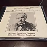 Richard Strauss Till Eulenspiegel's Merry Pranks, Salome's Dance, Death and Transfiguration