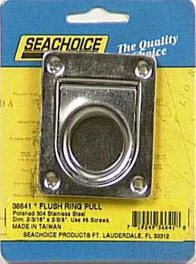 SEACHOICE RING PULL-2-3/16-SS by MfrPartNo (Seachoice Ring)