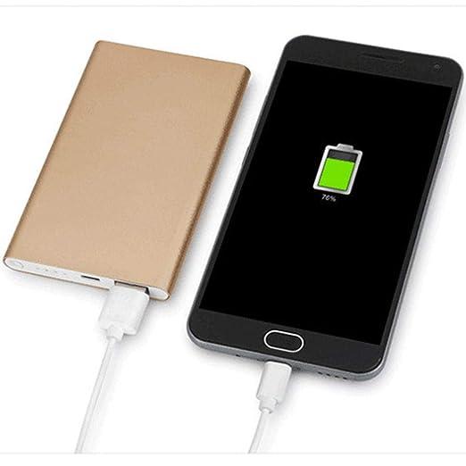 Tauser Ultra Delgado USB único Cargador Externo de batería ...
