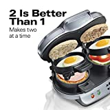 Hamilton Beach Dual Breakfast Sandwich Maker with