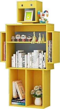 Librerías Sala de Estar estantería Creativa para niños Robot estantería estantería estantería Simple de Almacenamiento de jardín de Infantes estantería para niños Armario para niños: Amazon.es: Hogar