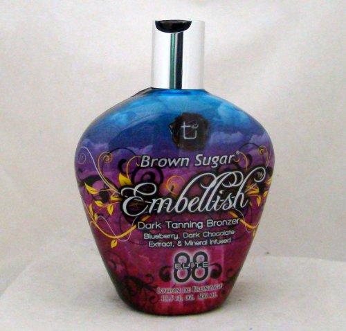 Tan Incorporated Brown Sugar EMBELLISH Bronzer Tanning Lotio