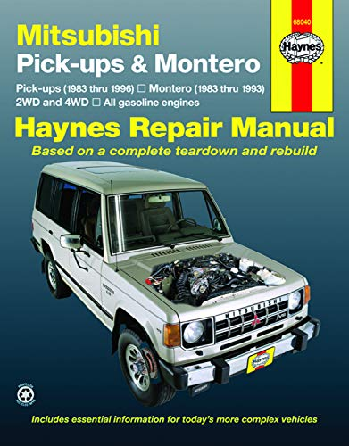 Mitsubishi Pickup & Montero  '83'96 (Haynes Repair Manuals)