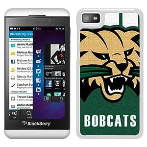 NCAA Ohio Bobcats White Popular Custom Design Blackberry Z10 Phone Case