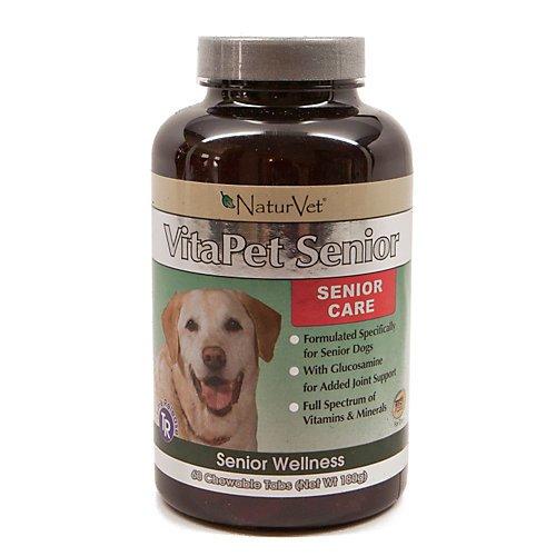 NATURVET 978122 Tr Vita Pet Sr Gluc for Pets, 180-Count, My Pet Supplies