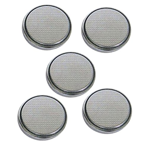 Lithium Button Cell Battery CR2450 5-Pack