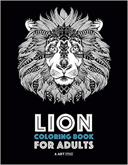 Lion Coloring Book For Adults: Detailed Zendoodle Animals For ...