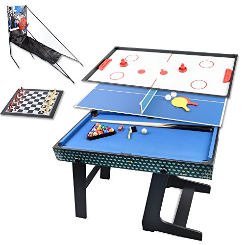 Win.max 3.5Ft Deluxe 5 In 1 Top Game Table Folding Table Table