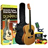 Guitar For Dummies Acoustic Guitar Starter Pack includes Guitar, Book, Audio CD, Gig Bag
