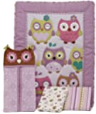 CoCo & Company Owl Wonderland 4 Piece Crib Bedding Set (Discontinued by Manufacturer)