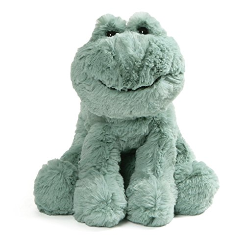 GUND Cozys Collection Frog Stuffed Animal Plush Pale Olive, 10