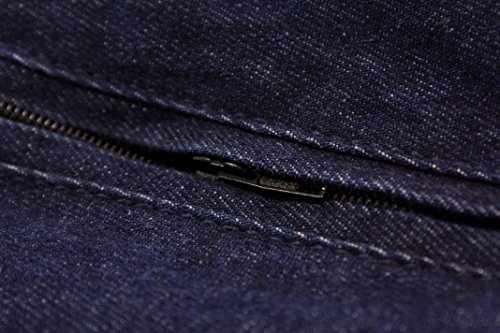 D555 Herren Jacke blau blau XXXX-Large