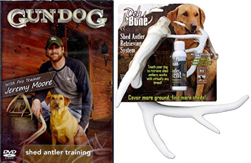DogBone Shed Antler Dog Retreiving Kit by Moore Outdoor Products DB RK ()