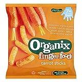Organix Finger Foods Carrot Sticks 7+ Months Stage 2 20G