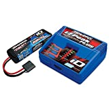2S Single Battery/Charger Combo: (1) 7.4V 5800mAh LiPo Battery, (1) EZ-Peak Plus ID Charger