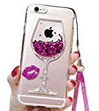 Best Case Girl With Sexy - iPhone 6 Cute Case, 6s Liquid Glitter Case Review