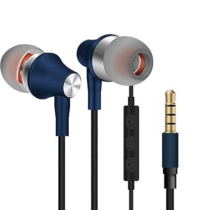 ead5b6a826f Amazon.com: ZHEL Mobile Computer Universal in-Ear Metal Headset ...
