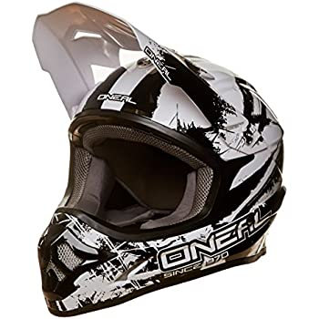 Oneal Black-White 2018 3Series Shocker Mx Helmet (L , Black)