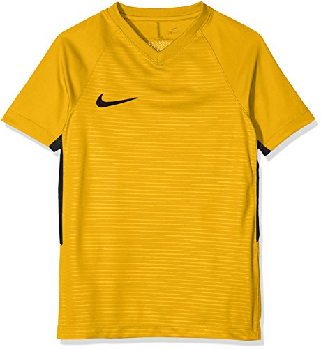 Nike Ss Tiempo Y Negro shirt Premier Unisex Niños Amarillo dorado T rUrqwdPE