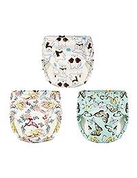 Joyo roy Baby Toddler Toilet Training Pants Washable Reusable Underwear 3PCS