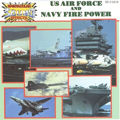 Us Air Force & Navy Fire Power