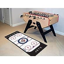 NHL Winnipeg Jets Runner Rug Logo Hockey Rink Floor Accent