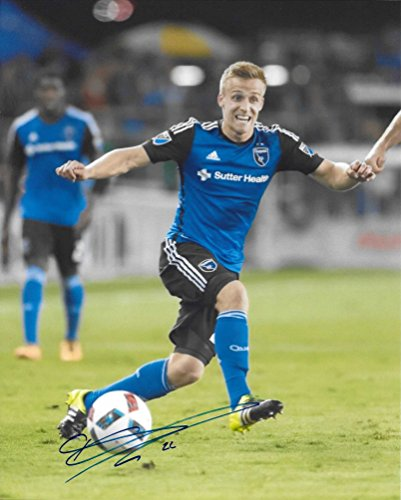 Tommy Thompson, San Jose Earthquakes, Signed, Autographed, 8x10 Photo, a Coa with the Proof Photo of Tommy Signing Will Be Included.