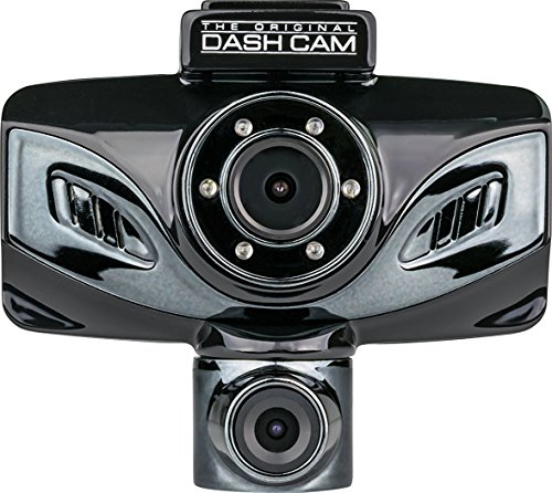 Dashboard Cam TwisterX adjustable dual camera device that twists 320 degrees, 1080P HD resolution with 130 degree camera angles, Motion detection sensor ,Built-In G-Sensor,Microphone audio recording