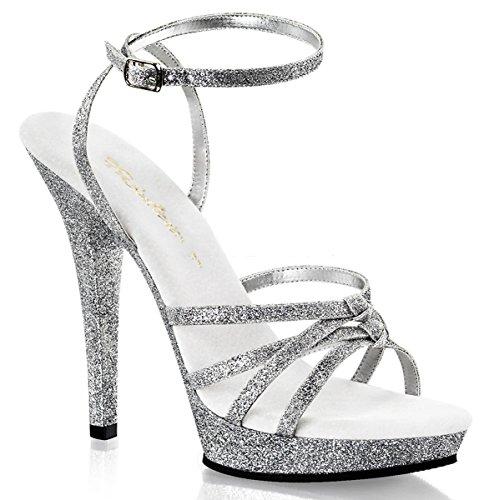 Fabulicious Lip-128 - sexy chaussures Femmes talon hauts mini plateau sandalettes 35-43
