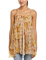 Free People secret Love Sleeveless Trapeze Top: Ivory Combo: Small: