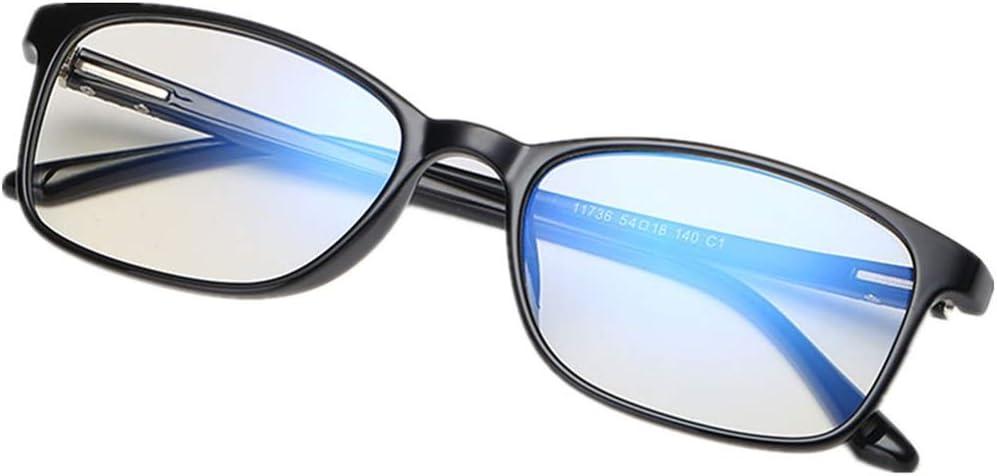Gafas Premium con Armazón TR90 para Protección contra Luz Azul,Evitan la Fatiga Visual. Bienestar para los Ojos. Filtro para Monitor. Accesorios de Oficina y Estudio. Antiluz Azul y UV