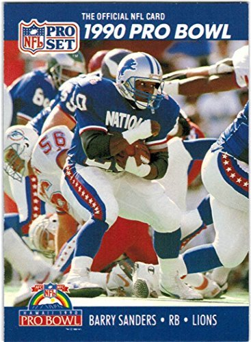 (1990 Pro Set Detroit Lions Team Set with 4 Barry Sanders - 30 Cards )