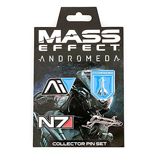 Mass Effect Andromeda Collector 4 Pin Set