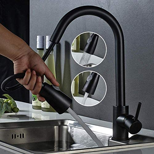 ZJN-JN 蛇口 バスルームのシンクは、スロット付き浴室の洗面台のシンクホットコールドタップミキサー流域の真鍮シンクミキサータップ非震とうヨーロピアンスタイルブラックブロンズ全銅洗面台アンティークシンクホットとコールド蛇口タップ 台付