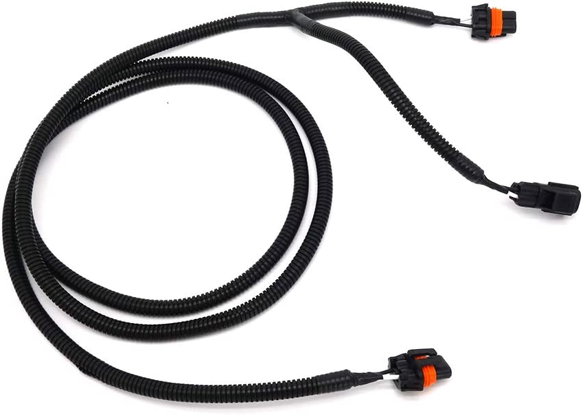 Compatible with Fog Lamp Light Jumper Wiring Harness Dodge Ram 1500 2500 3500 Replaces 56045501AC