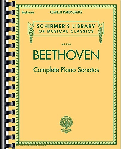 Complete Piano Sonatas - Sonata Music Beethoven Sheet Moonlight