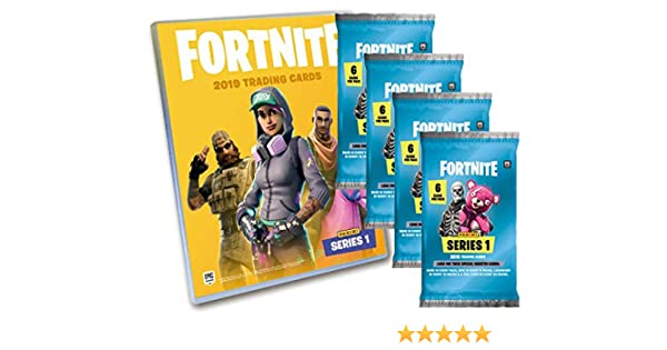 panini série 1 5 Booster Epic Classeur Starter Pack Fortnite