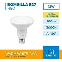 LÁMPARA REFLECTORA LED R90 12W E-27 230V 3000K