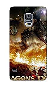 Fashionable NMuyScm10600FGddi Galaxy S5 Case Cover For Dragon Dogma Dark Arisen Protective Case With Design BY icecream design