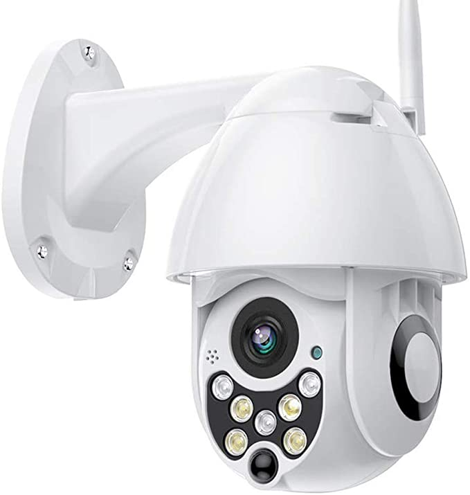 PTZ Camara Vigilancia, Camara WiFi Exterior Impermeable IP66 con ...
