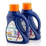 #LightningDeal Laundry Odor Eliminator by Febreze In Wash Detergent Refresher, Fresh Scent, 50 Fluid Ounce (Pack of 2)