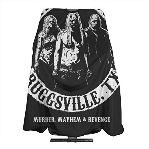 ZTZTR Adult Haircut Barber Cape Cover For Hair Cutting The Devil's Rejects, Ruggsville, TX. Haircut Apron 5566in