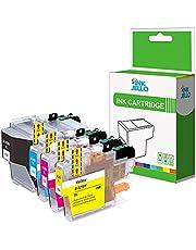 InkJello compatibel inkt Patron Vervanging voor Brother MFC-J5330DW MFC-J5335DW MFC-J5730DW MFC-J5930DW MFC-J6530DW MFC-J6930DW MFC-J6935DW MFC-J6935DWF LC3219XL (BK,C,M,Y, 4-Pack)